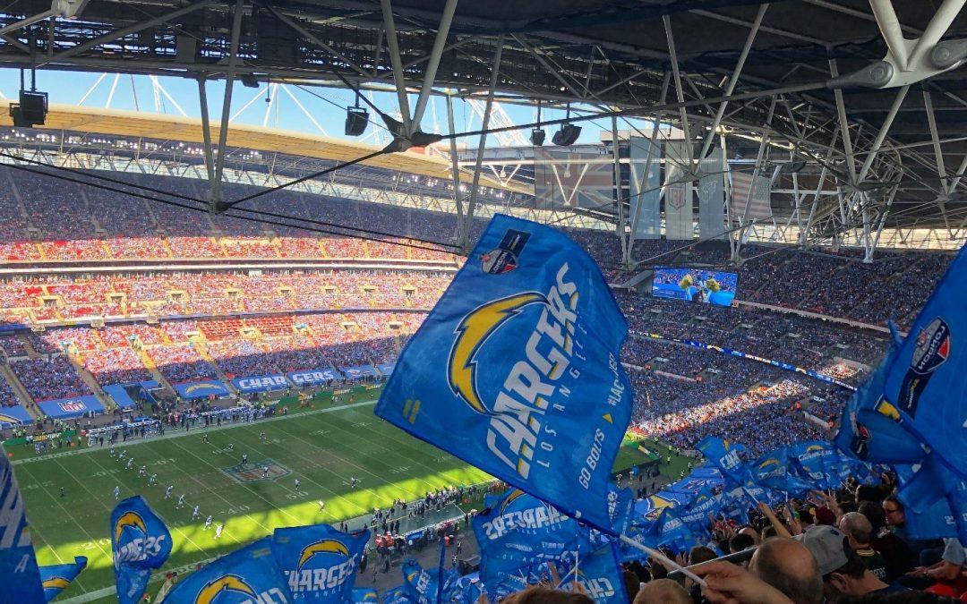 NFL stadium full of spectators.